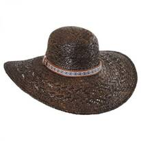 Raffia Straw Floppy Wide Brim Hat