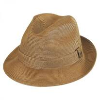 Tate Braided Straw Fedora Hat