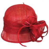 Rosa Straw Cloche Hat