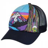 Mountain Northwest Trucker Snapback Baseball Cap