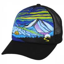 Northern Lights Northwest Trucker Snapback Baseball Cap