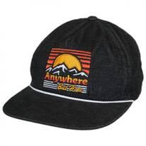 Destination Camper Snapback Baseball Cap