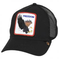 Freedom Mesh Trucker Snapback Baseball Cap