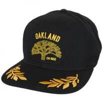 Oakland Snapback Baseball Cap