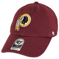 Washington Redskins NFL Clean Up Strapback Baseball Cap Dad Hat