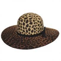 Jezebel Wool Felt Floppy Hat