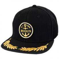 Champion Wool and Twill Strapback Baseball Cap Dad Hat