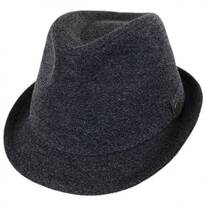 Pre-Snap Wool Blend Trilby Fedora Hat
