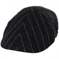 Pinstripe British Wool Duckbill Ivy Cap