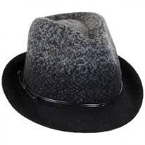 Boiled Wool Fedora Hat