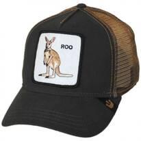 Roo Mesh Trucker Snapback Baseball Cap