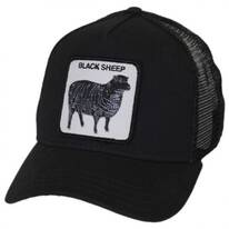 Black Sheep Mesh Trucker Snapback Baseball Cap