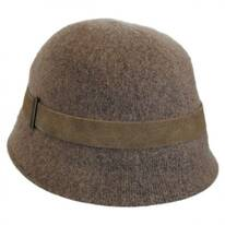 Kensie Wool Cloche Hat
