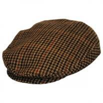Lord Houndstooth Tweed Wool Blend Ivy Cap