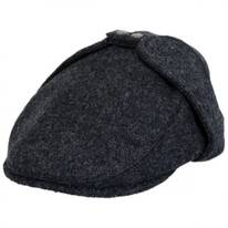 Wool Blend Earflap Ivy Cap