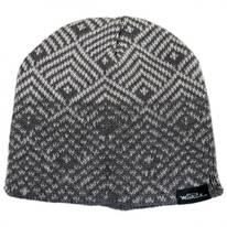 Geo Knit Beanie Hat