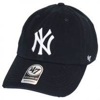 New York Yankees MLB Ridge Clean Up Strapback Baseball Cap Dad Hat