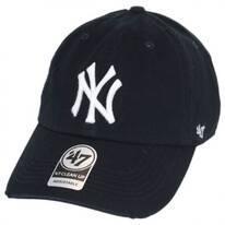 New York Yankees MLB Ridge Clean Up Strapback Baseball Cap Dad Hat