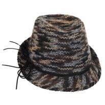 Frenzy Knit Trilby Fedora Hat