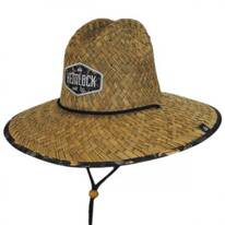 Cosmic Camo Straw Lifeguard Hat
