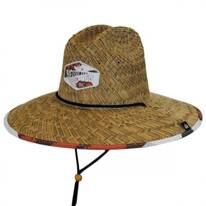 Grizzly Straw Lifeguard Hat