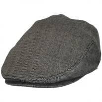 Herringbone Pure Wool Ivy Cap