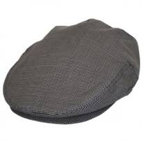 B2B Baskerville Hat Company Micro Check Wool Ivy Cap