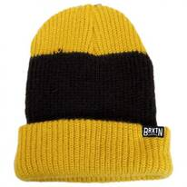 Langley Stripe Knit Beanie Hat