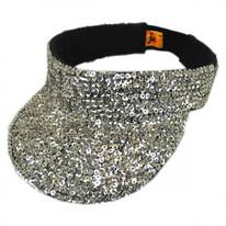 Sequin Visor - Solid