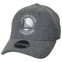 Golden State Warriors NBA 'Cashmere' 9Twenty Strapback Baseball Cap Dad Hat