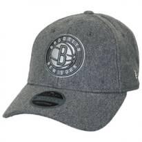 Brooklyn Nets NBA 'Cashmere' 9Twenty Strapback Baseball Cap Dad Hat