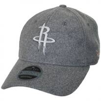 Houston Rockets NBA 'Cashmere' 9Twenty Strapback Baseball Cap Dad Hat
