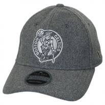 Boston Celtics NBA 'Cashmere' 9Twenty Strapback Baseball Cap Dad Hat