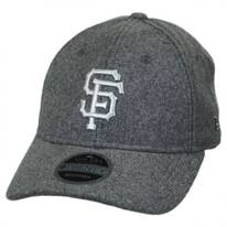 San Francisco Giants MLB 'Cashmere' 9Twenty Strapback Baseball Cap Dad Hat