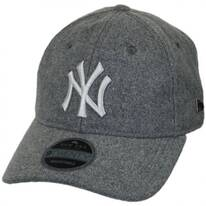New York Yankees MLB 'Cashmere' 9Twenty Strapback Baseball Cap Dad Hat