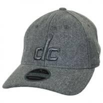 Washington Wizards NBA 'Cashmere' 9Twenty Strapback Baseball Cap Dad Hat