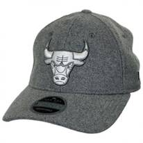 Chicago Bulls NBA 'Cashmere' 9Twenty Strapback Baseball Cap Dad Hat