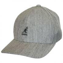 Logo Wool FlexFit Fitted Baseball Cap