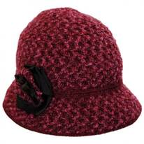 Willow Knit Cloche Hat