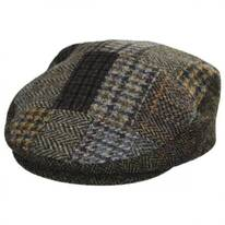 Cheesecutter Patchwork English Wool Tweed Ivy Cap
