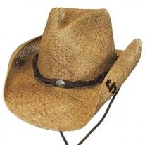 Comstock Straw Western Hat