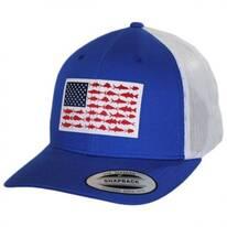 PFG Fish Flag Mesh Snapback Baseball Cap