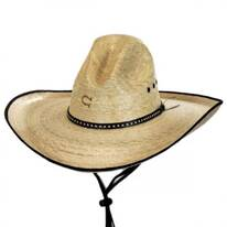 Bandito Palm Leaf Straw Gus Hat