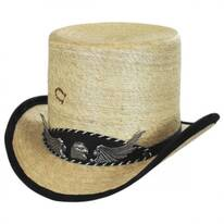 Rock Ridge Palm Leaf Straw Top Hat