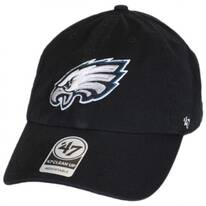Philadelphia Eagles NFL Clean Up Strapback Baseball Cap Dad Hat