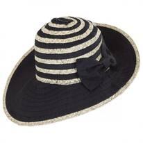 Donna Ribbon and Straw Sun Hat