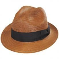 Lando Toyo LiteStraw Fedora Hat