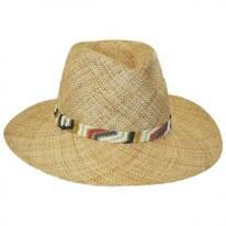 Saltaire Bao Straw Safari Fedora Hat