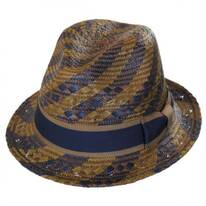 Kensington Toyo Straw Fedora Hat