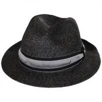 Jericho Toyo Straw Fedora Hat